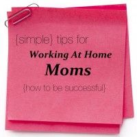 Simple Tips From A Successful Mompreneur For Working At Home Babble Spon