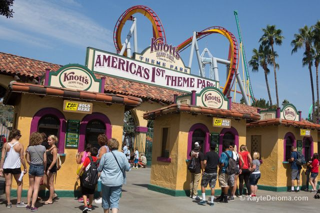 Knott's Berry Farm in Buena Park is one of the most popular theme park for LA and Orange County locals, with plenty to entertain kids, teens and adults. Find out here how to plan the best day for your group with info, photos, ride restriction, hours, tickets and more.: Knott's Berry Farm Tickets and Discounts