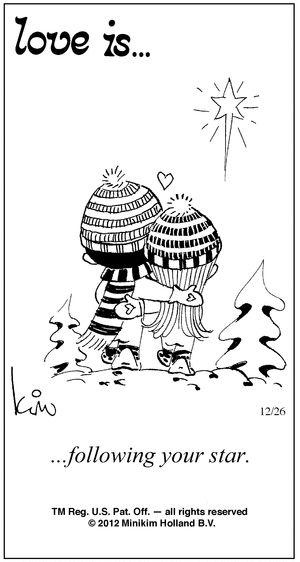 Love Is... Comic Strip, December 26, 2012 on GoComics.com