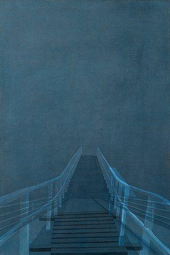 Susanne Gottberg: Silta IX, 2003, öljy kankaalle, 120,5x81,5 cm - Bukowskis