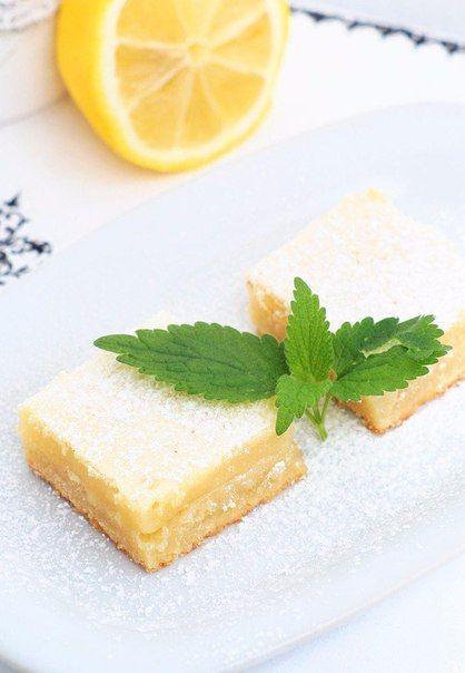Квадратики с лимонным кремом