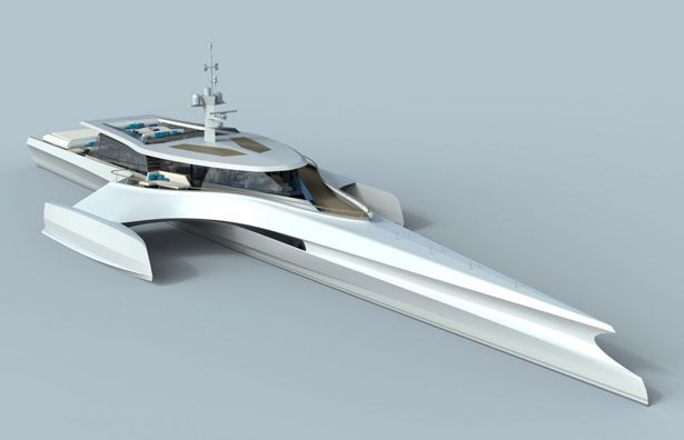 Irens Trimaran Expedition Yachts