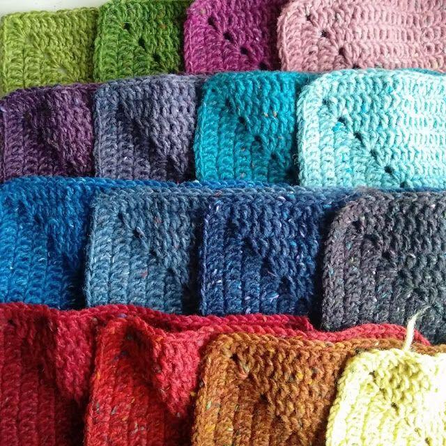 76 mejores imágenes de Crochet Blankets en Pinterest | Afganos de ...