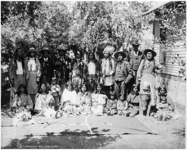 1897 Ute IndiAns