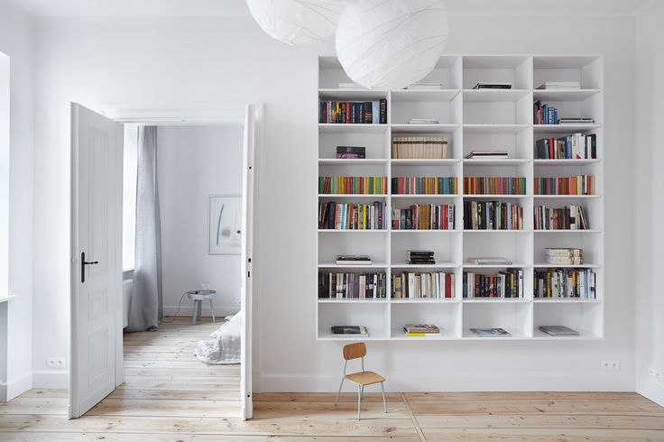 INTERIOR DESIGNER & STYLIST: Agnieszka Suchora / PHOTOGRAPHY & POSTPRODUCTION: Jola Skóra // ceiling lamp: IKEA / small stool: Modernizm Design / night table in bedroom: Muuto   NAP / transparent lamp: Avocado, proj. T. A. Rudkiewicz   TAR / bedspread: NAP / painting: Andrzej Dudziński