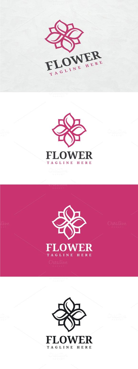 Flower Logo. Logo Templates. $29.00