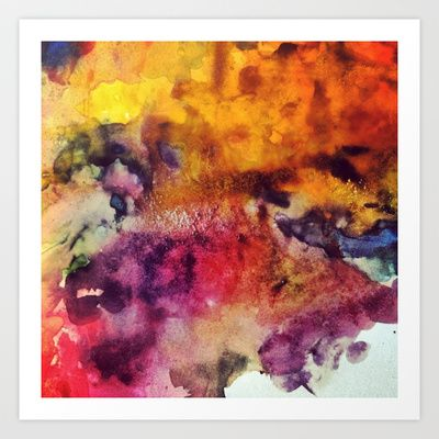 2/3 Art Print by Lucy Claire Nash - $15.60