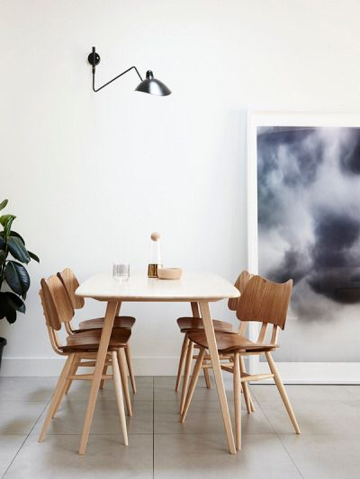 Pure and simple: Featuring the Ercol Butterfly Chair... http://www.nest.co.uk/product/ercol-butterfly-chair