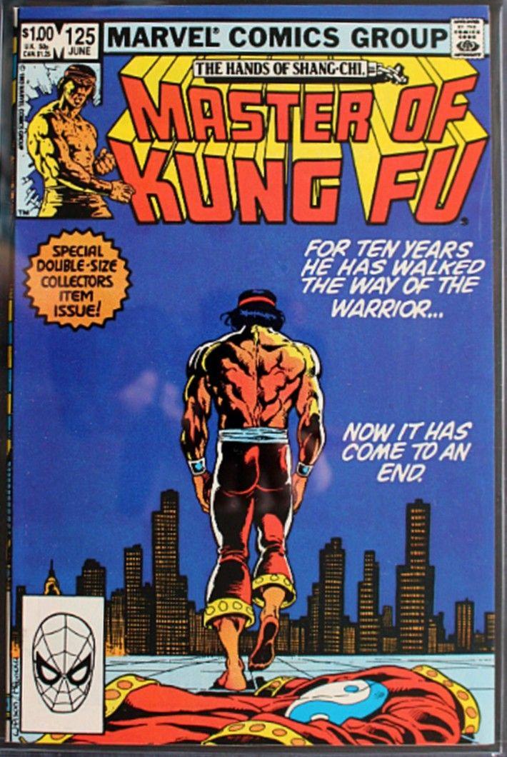 Master Of Kung Fu 125 June 1983 Ron Wilson Mike Mignola C A Comics Comic Books Art Marvel Comics