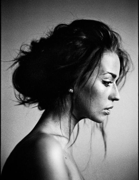 Portraits 4 by Aleksandra Zaborowska, via Behance