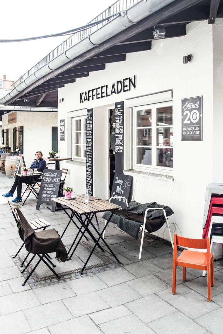Café und Kaffeerösterei in München