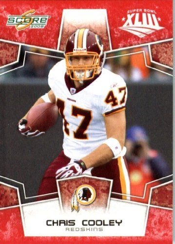 2008 Score Red SuperBowl Edition Football Card (only 2400 made) - #326 Chris Cooley TE - Washington Redskins by Topps Update. $0.99. 2008 Score Red SuperBowl Edition Football Card (only 2400 made) - #326 Chris Cooley TE - Washington Redskins