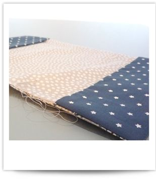 Protège-cahier textile - Couture - Pure Loisirs