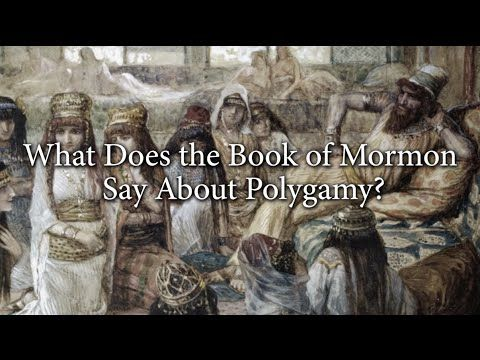 What Does the Book of Mormon Say About Polygamy? Knowhy #64 - YouTube