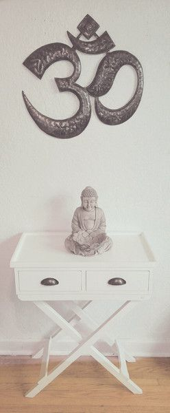 Aum Wall Decor   In stock $50   www.omandtemple.com   Because harmony should be everywhere.