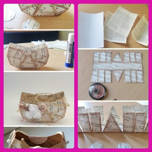 how to make purse with paper