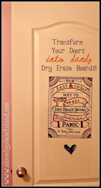 Easy Dry Erase DoorsDecor, Doors Dry, Steady Hands, Easy Dry, Sticks Laminate, Erase Boards, Laminate Sheet, Dry Erase, Erase Doors