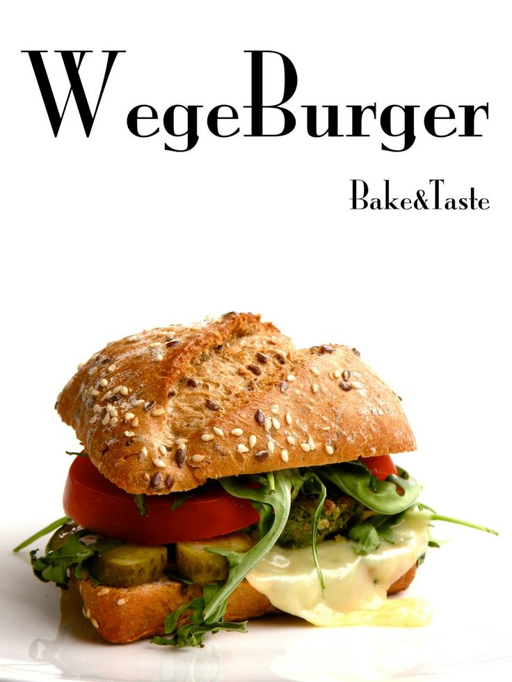 Kotlety z brokuła / Wegeburger Vege Broccoli Burgers