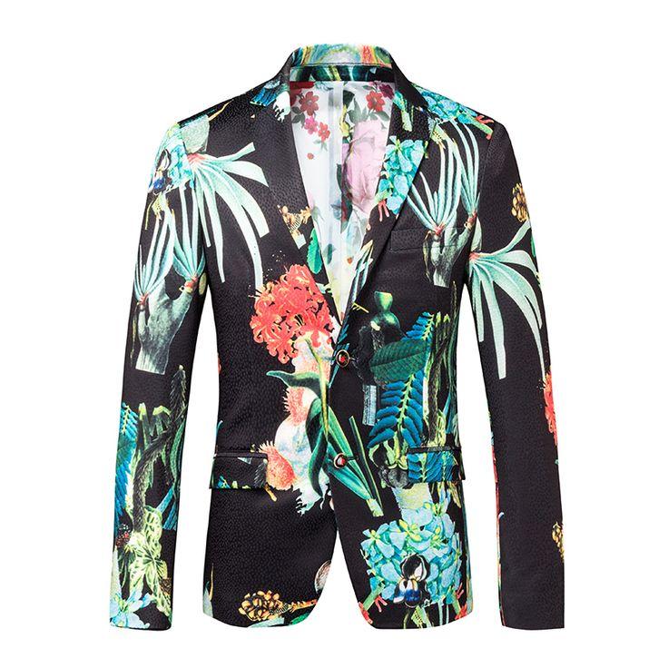 Купить товарПревосходный мужские цветочный смокинг костюм пиджак Masculino приталенный , пригодный для ну вечеринку свадьба весте костюм Homme осень в категории Спортивные курткина AliExpress.                   Добро пожаловать                           Мода ребенка!                   Быть князь, это