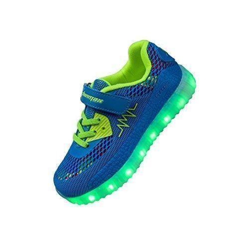 Oferta: 39.99€. Comprar Ofertas de Shinmax Zapatillas LED Nueva Led Zapatos de Deporte de Zapatillas con Luces Niños de 7 Colores LED con CE Certificado barato. ¡Mira las ofertas!