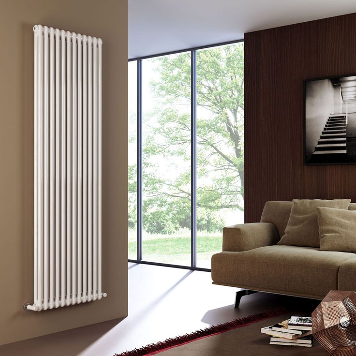 contemporary vertical wall radiator styles - Google Search