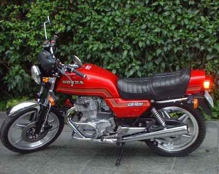 1980 - Honda CB 400 1980 - não tenho foto, mas era igual a esta