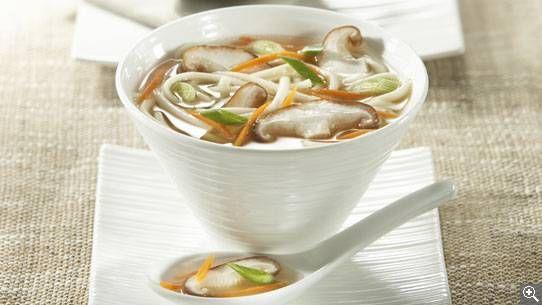 Soupe de miso aux shiitakes: ingrédients, préparation, trucs, information nutritionnelle.