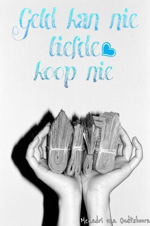Geld kan nie liefde koop nie