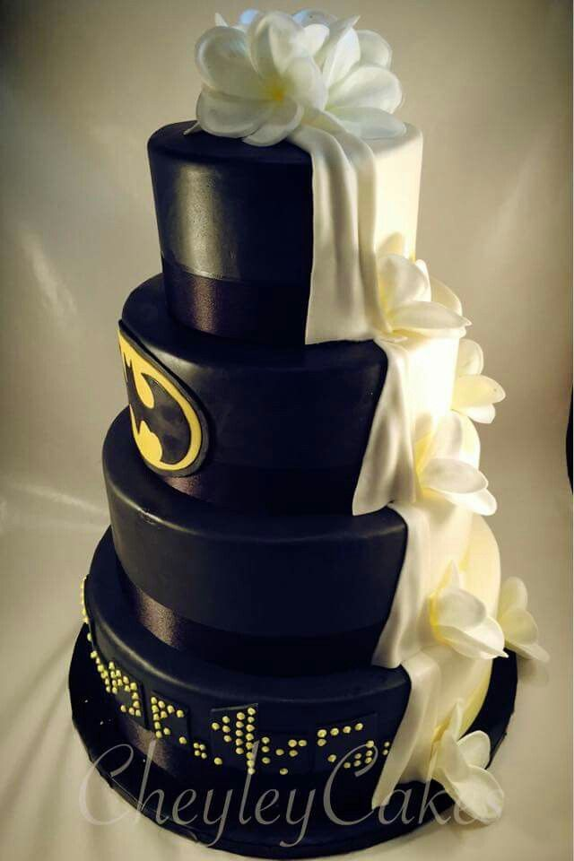 78 best Wedding stuff images on Pinterest Batman wedding cakes