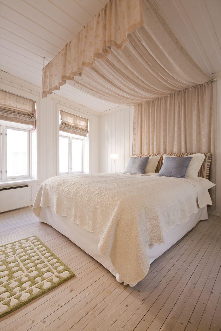 To Søstre Guesthouse, Bergen, Norway: The Canopy Room.  ASPEN CREEK TRAVEL - karen@aspencreektravel.com