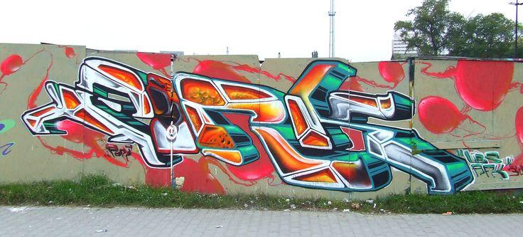 2010 Budapest HoF #Budapest #Hungary #graffiti #spray #art #fork #fork4 #afx #apocalypsefanatix #ubs #sw307