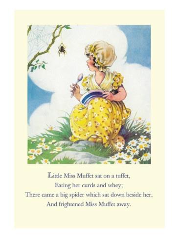Vintage nursery rhyme print
