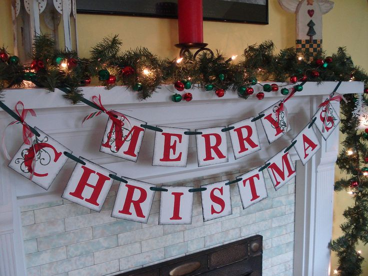 Best 25 mantle garland ideas on pinterest fireplace garland christmas decorations christmas mantle decoration family christmas photo banner vintage inspired holiday banner christmas banner solutioingenieria Choice Image