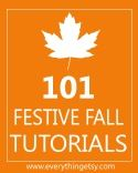 101 Fall Crafts: Crafts Ideas, Handmade Fall, Fall Crafts, Festivals Fall, 101 Tutorials, Handmade Gifts, Fall Tutorials, Craft Ideas, Sewing Tutorials
