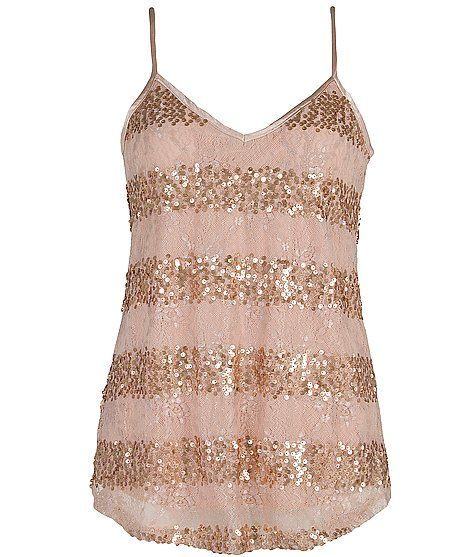 BKE Lace Overlay Tank Top....cute with skinny jeans and heels! want this top♥