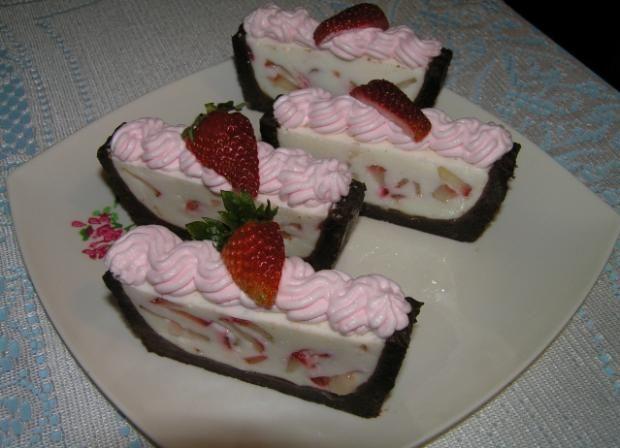 Nepečená jogurtová torta., recepty, Nepečené zákusky   Tortyodmamy.sk