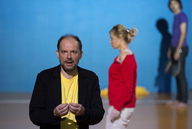 Répétition, de Pascal Rambert. Théâtre de Vidy, oct 2015.