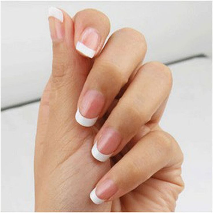 Acrylic Nails French Manicure Promotion-Shop for Promotional ...