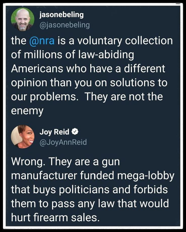 Why does the NRA treat citizens with a different opinion then theirs as the enemy? Hypocritical to the end, aren't they?