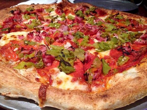 The Lobo Pizza Special: Brickyard Pizza`