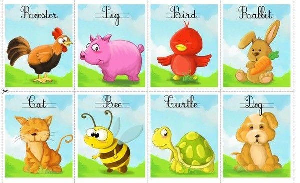 Les animaux en anglais s quence animaux pinterest animaux - Jeux d hotel pour animaux ...