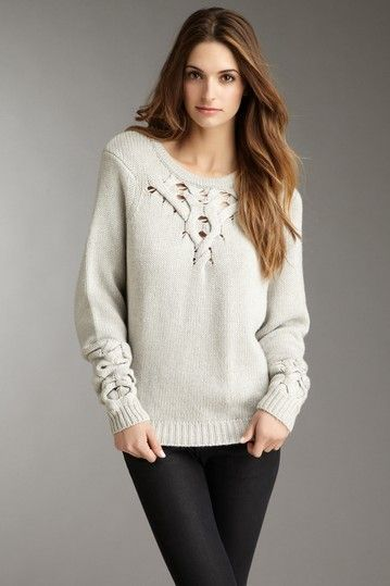 HauteLook- cable knit!