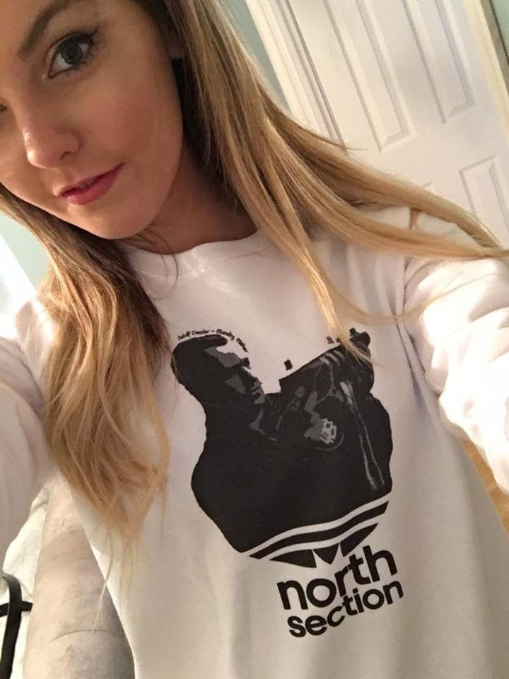 Adolf Dassler - Founding Father Sweatshirt (White) – North Section - Terrace Menswear