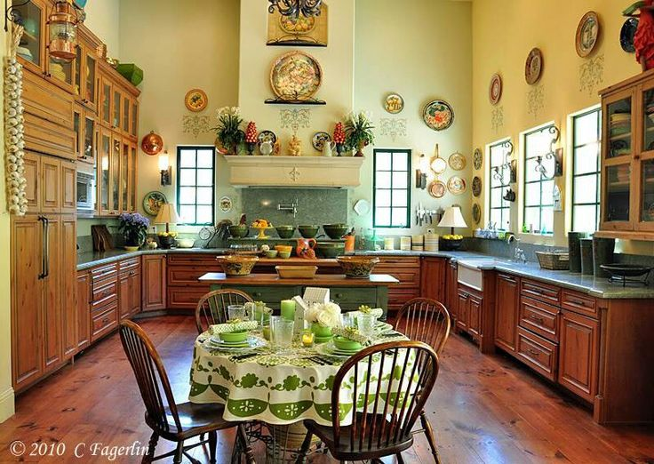Italian Country Kitchens