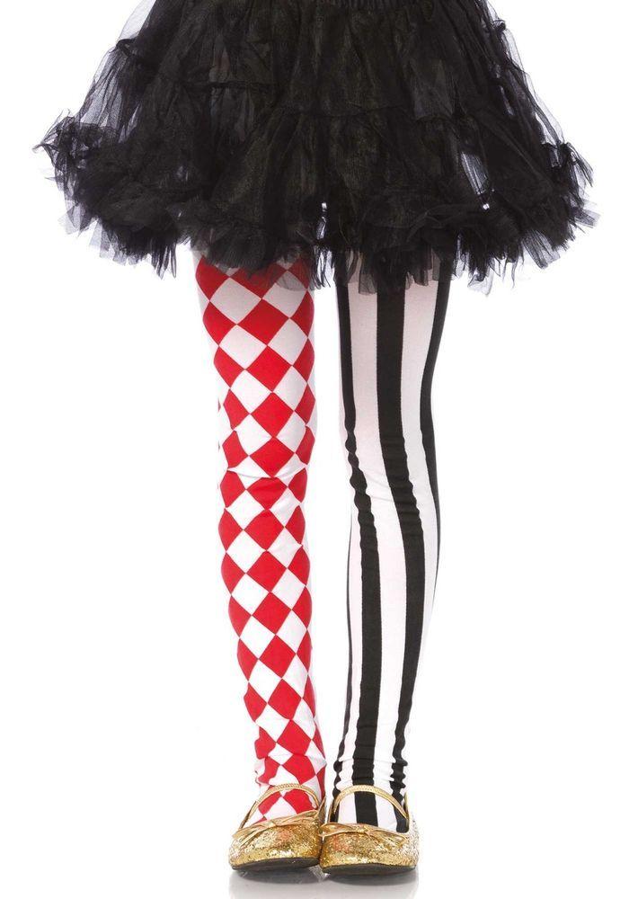 lag 4913 leg avenue kinder strumpfhose clown harlequin. Black Bedroom Furniture Sets. Home Design Ideas