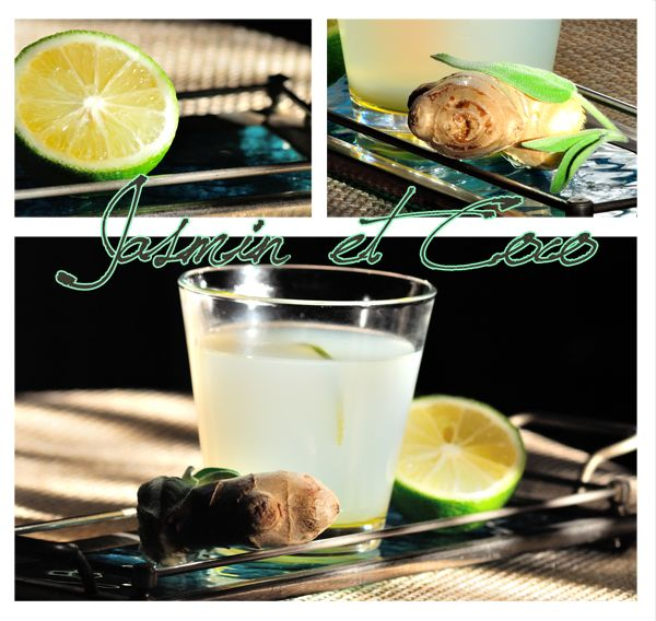 Ginger/sage  infusion