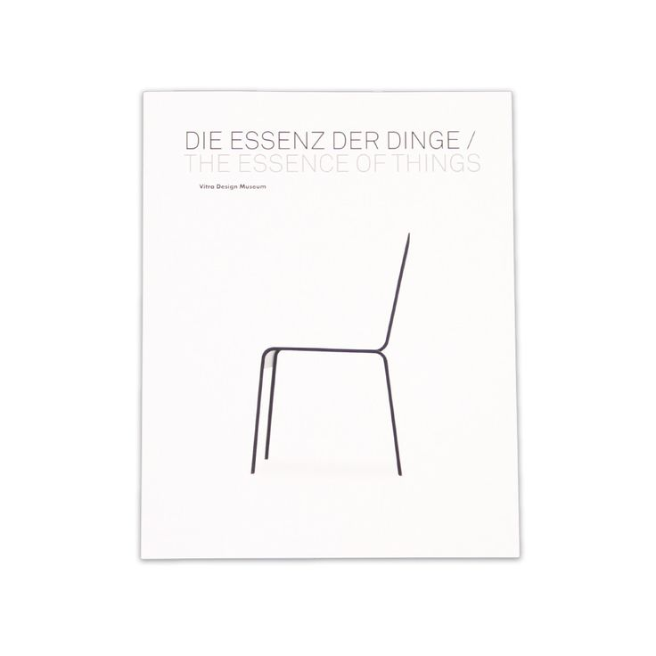The Essence of Things by Vitra Design Museum