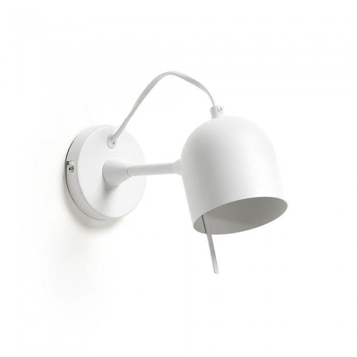 Aplique Lucilla Blanco Kave Home Apliques De Pared Apliques Y Bombillas