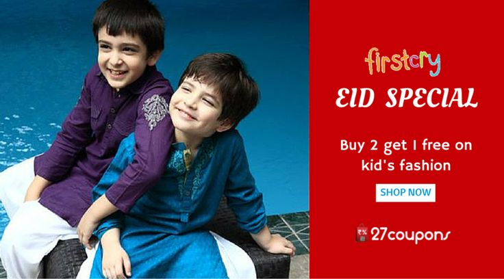 This EID - Shop more for your little ones with this great offer. http://27c.in/5VlHZ FirstCry.com ‪#‎ecommerce‬ ‪#‎Kidsfashion‬