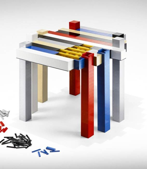 Lego Table – La table de Designer à monter soi-même !